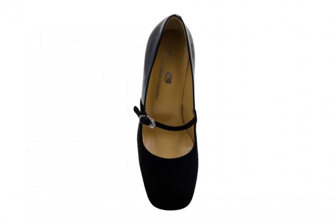 Замшевые туфли  Giovanni Fabiani