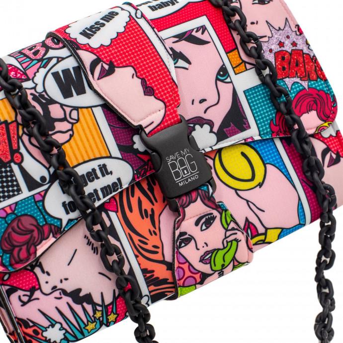 Сумка на цепочке из нейлона Save my Bag